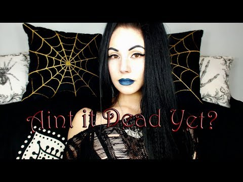 Goth Is Dead   New Goth Music Is A Figment Of Your Imagination