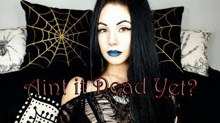 Goth is Dead | New Goth Music is A Figment of Your Imagination