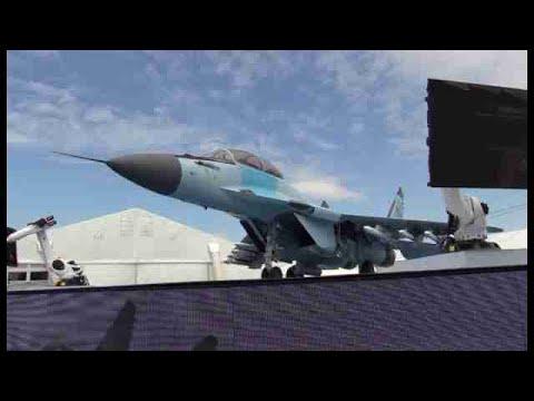 Rusia muestra en vuelo el nuevo caza MiG-35