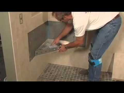 how to tile a shower floor wall tile installation 4