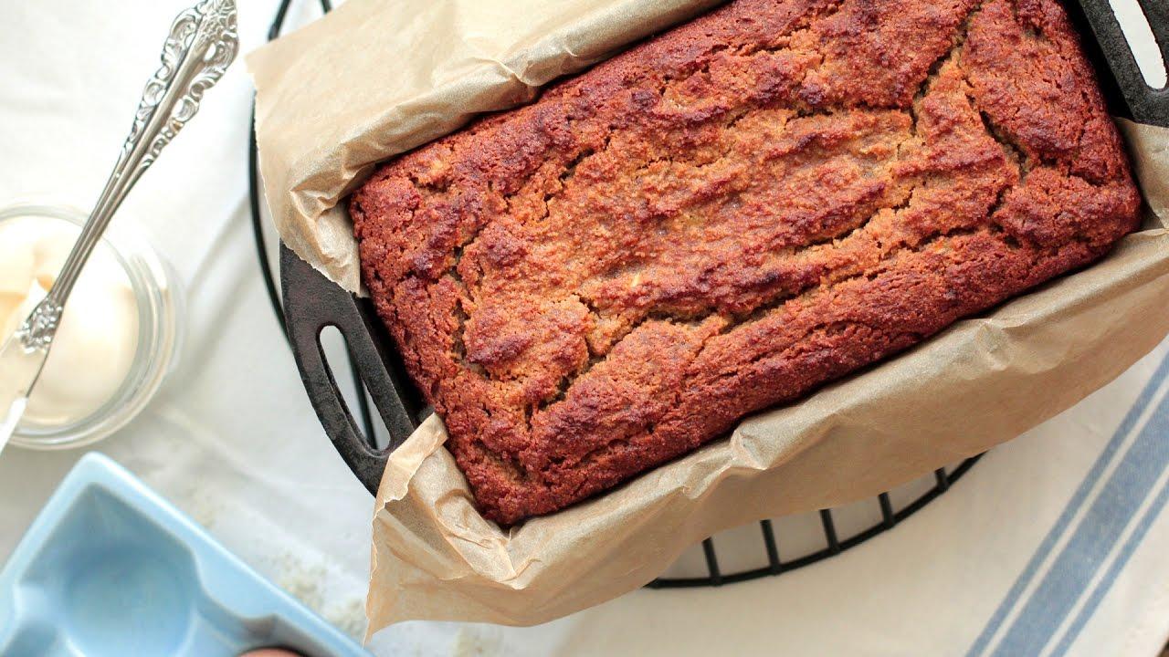 Almond Flour Banana Bread Youtube