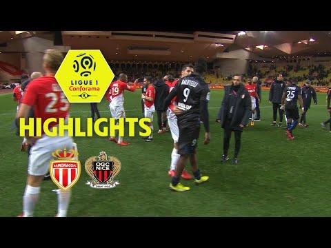 AS Monaco - OGC Nice (2-2) - Highlights - (ASM - OGCN) / 2017-18