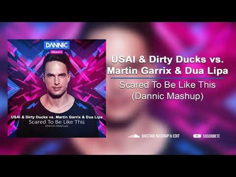 USAI & Dirty Ducks Vs Martin Garrix & Dua Lipa - Scared To Be Like This (Dannic Mashup)
