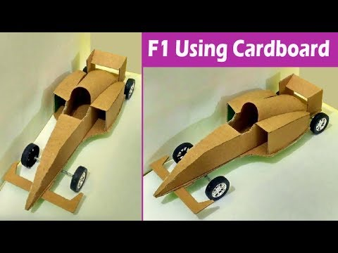 cardboard f1 car toy how to make amazing f1 racing car from cardboard youtube. Black Bedroom Furniture Sets. Home Design Ideas