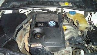 VW Passat B5.Замена тройника системы охлаждения.Двигатель AZM.(, 2014-07-27T21:04:29.000Z)
