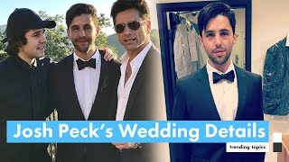 On saturday, june 17th, 2017, josh peck married his long time love paige o'brien in sunny malibu. the two were surrounded by friends and family, but surprisi...