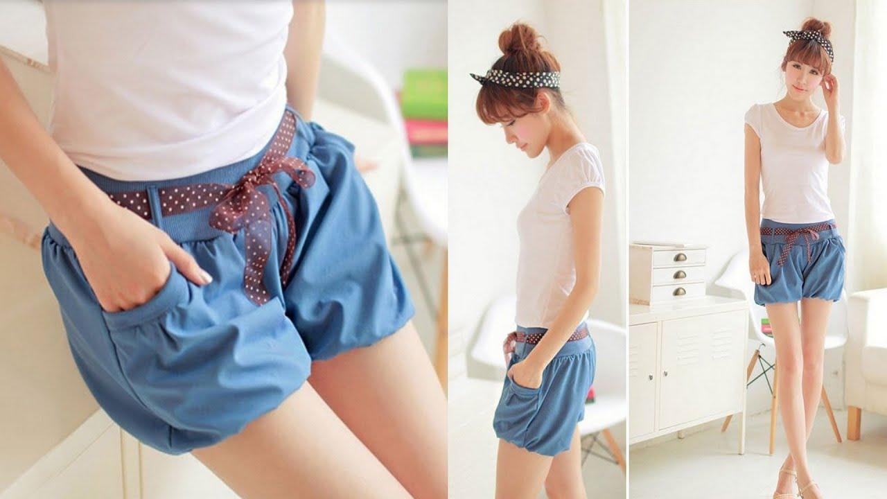 Стильные летние женские шорты из шифона. Aliexpress