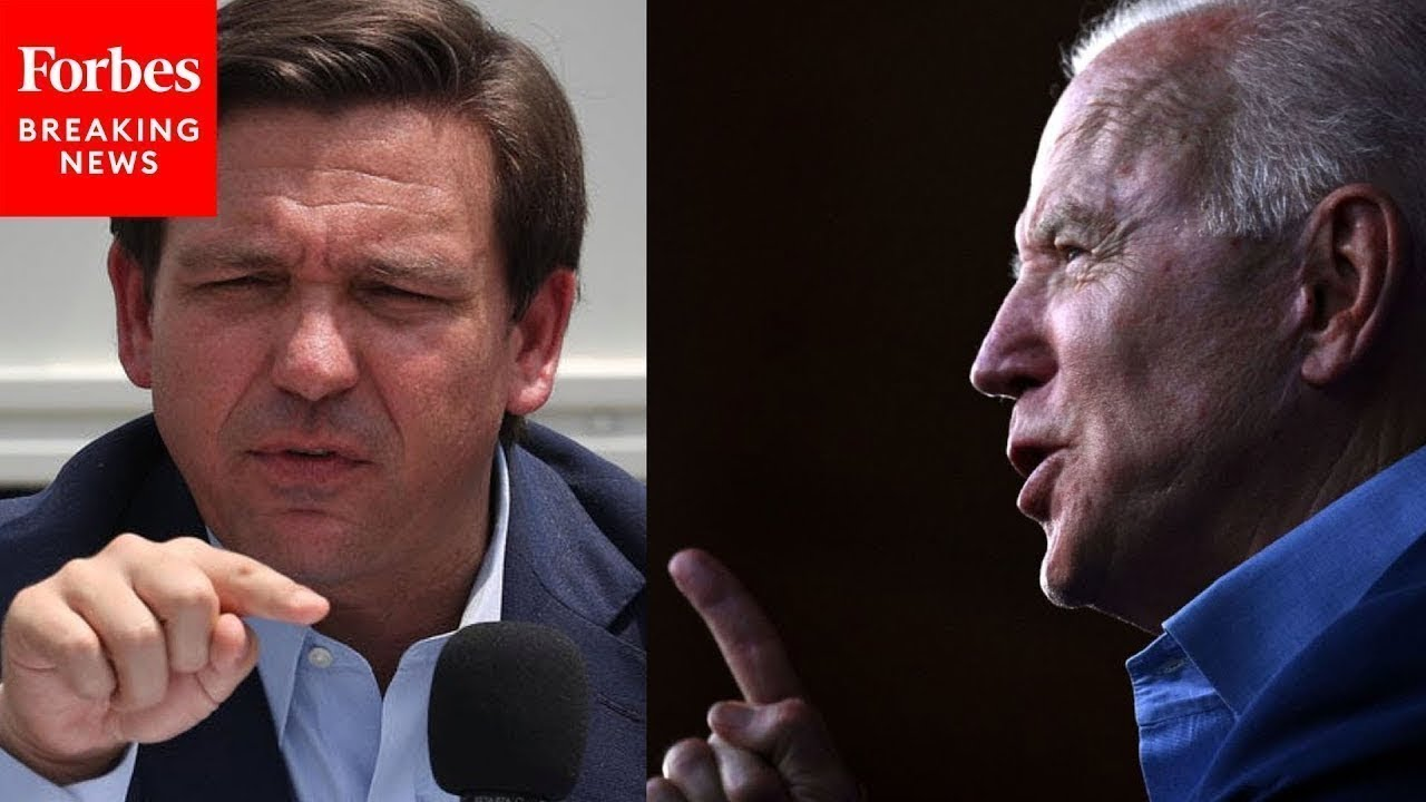 Governor Ron DeSantis is about science, freedom & good governance - Biden is about force & ignorance