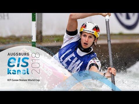 2018 ICF Canoe Slalom World Cup 3 Augsburg / Semis – C1w, K1m