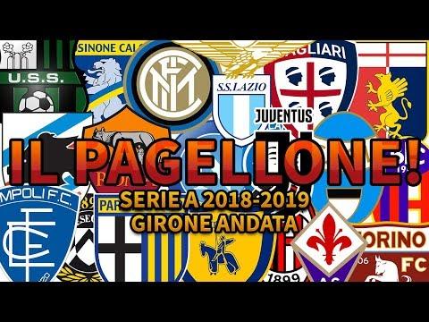 IL PAGELLONE!!! SERIE A 2018/2019 [GIRONE ANDATA]