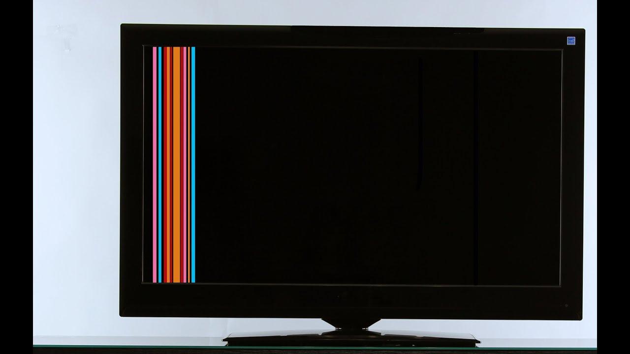 raya roja vertical en tv
