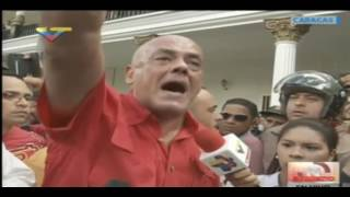 Jorge Rodríguez ingresa al Parlamento