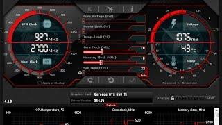 RivaTuner - Утилита для разгона видеокарт