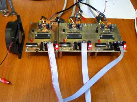 Toshiba tb6560 bipolar stepper driver test run i 1 8 step for Bipolar stepper motor driver circuit