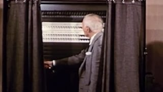 1957 Voting Machines  Film - Reel America Preview