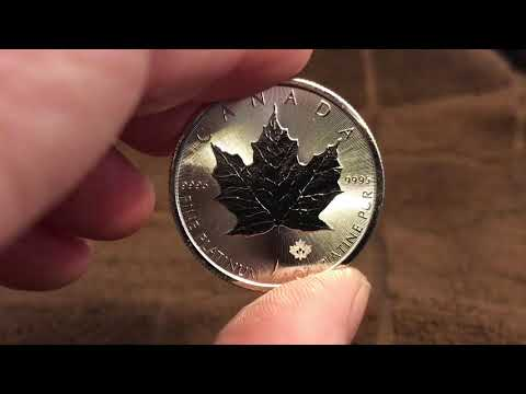 1 Oz Platinum Maple Leaf Unboxing
