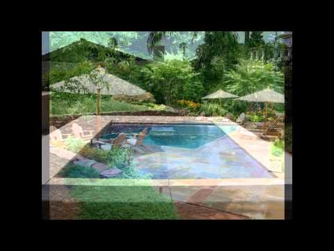 rectangular swimming pool designs ideas spa landscaping above ground walmart youtube