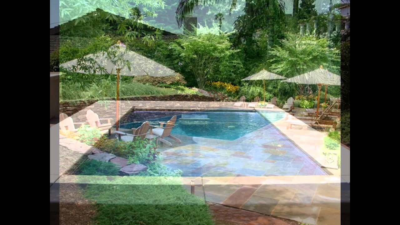 Rectangular Swimming Pool Designs Ideas SPA Landscaping Above ...