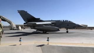 Tornados leave Afghanistan