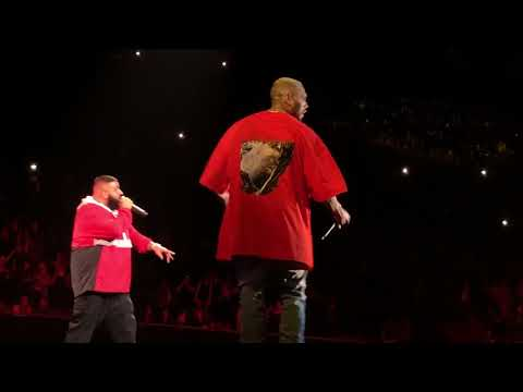 DJ Khaled & Chris Brown performing LIVE @ TMYLM Tour 2018
