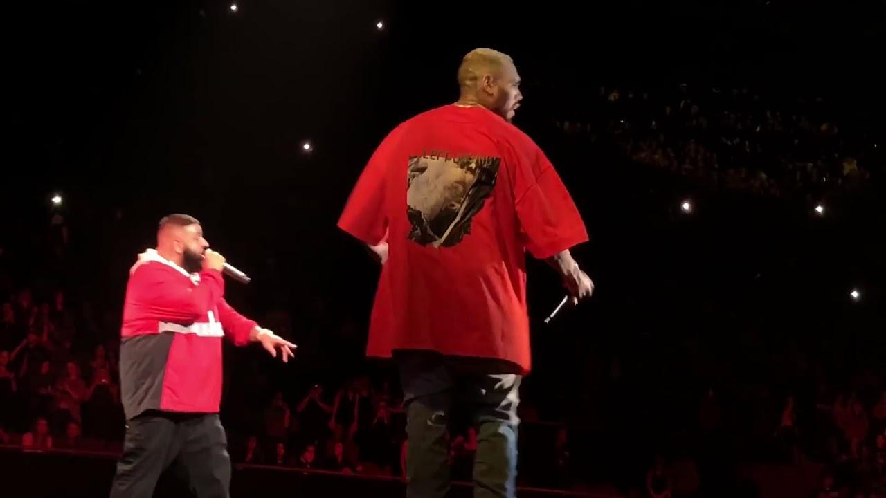 Download DJ Khaled & Chris Brown performing LIVE @ TMYLM Tour 2018