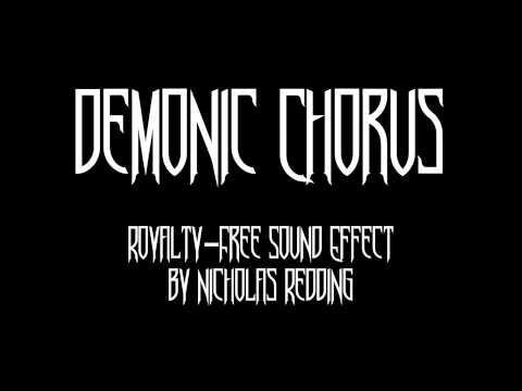 Demonic Chorus Sound Effect - YouTube