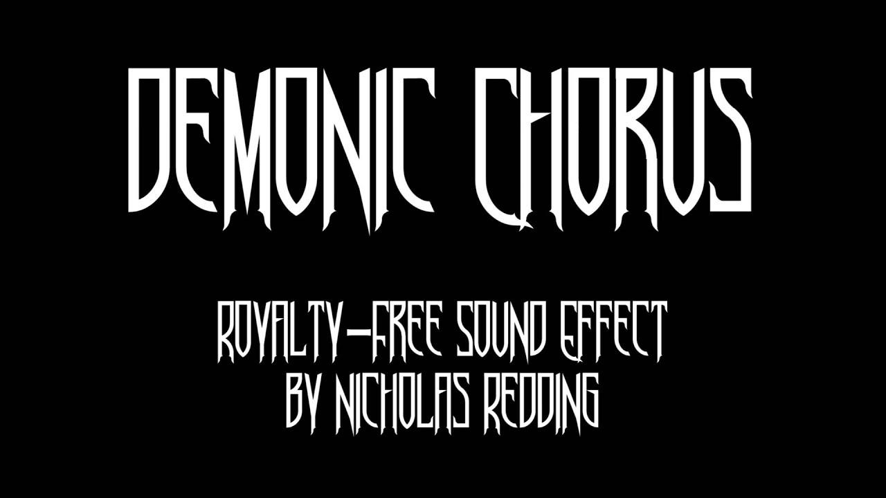 Demonic Chorus Sound Effect