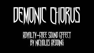 Download Mp3 Demonic Chorus Sound Effect