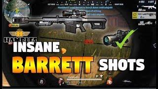 INSANE BARRETT SHOTS!! (Rules of Survival: Battle Royale)