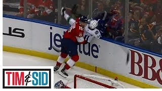 Is A Two Game Suspension Enough For Mike Matheson's Hit On Elias Pettersson?| Tim and Sid