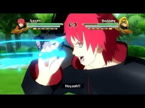Naruto Ultimate Ninja Storm 3 Full Burst: Combo/Tilt Cancel Tutorial - SASORI