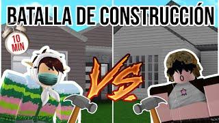 BATALLA DE CONSTRUCCIÓN VS MI HERMANA!!… ¿QUIÉN GANARÁ?