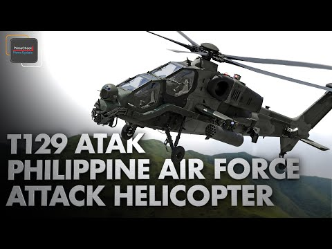 T129 ATAK Multirole Attack Helicopter with State of the Art Combat Systems | Philippine Air Force