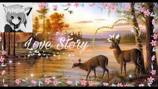 LOVE STORY| WILD ANIMALS ONLINE| История Пятнышко и Лилии| • Волчица Ося (Ч.О)