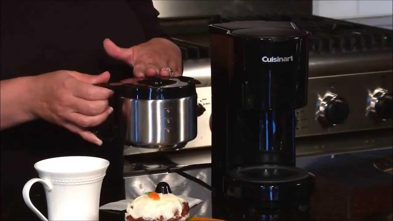 Cuisinart Coffee Maker Stopped Working : Cuisinart 4 Cup Coffeemaker DCC 450 - YouTube