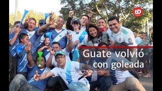 seleccion de guatemala goleo a cuba l prensa libre
