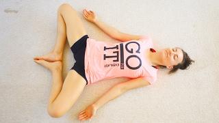 Йога для женщин во время менструации -2 | 40 мин chilelavida