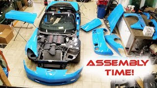 Rebuilding Wrecked 2011 Corvette Grand Sport Part 8