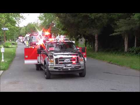 Deptford's Union Fire Company Blackwood Terrace 100 yr Anniversary Fire Truck Parade