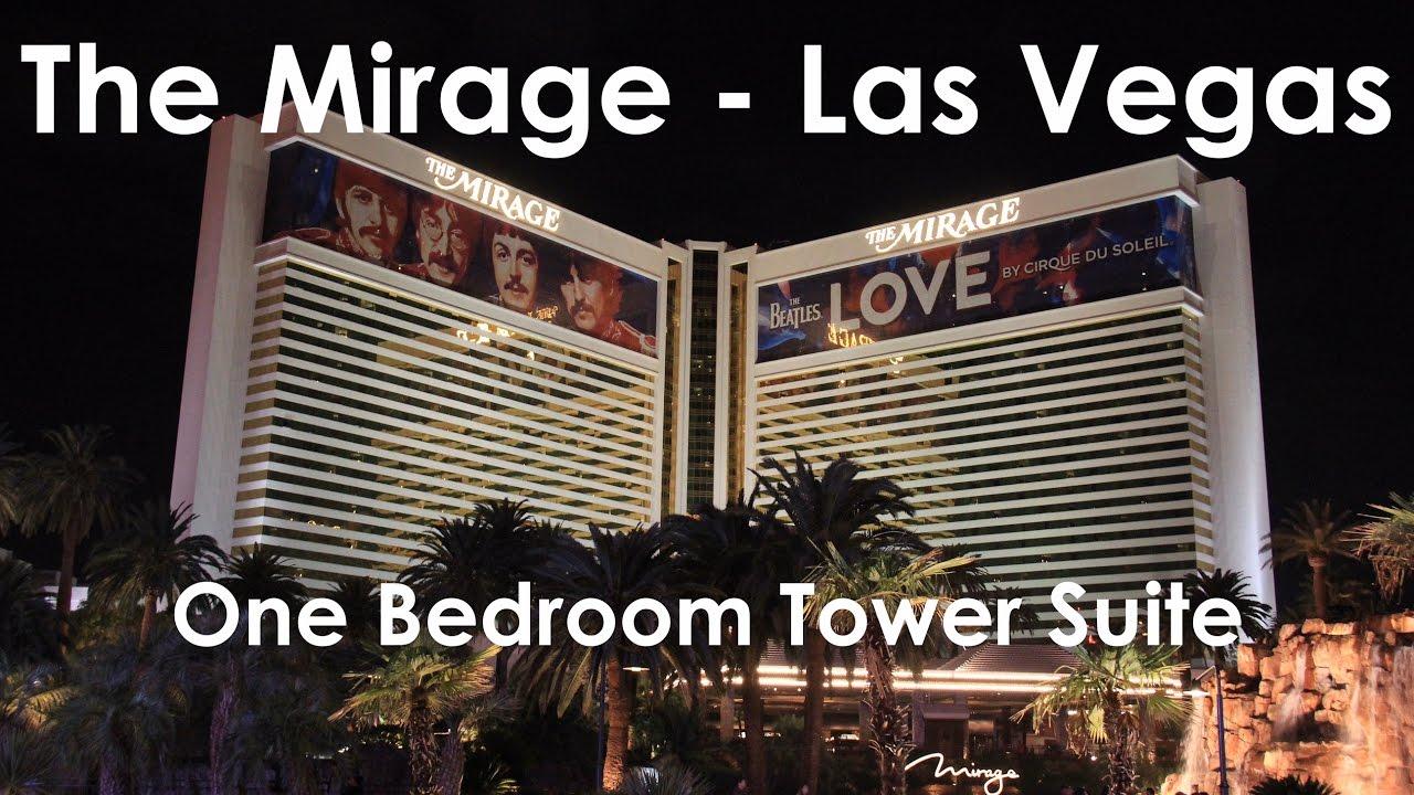 Mirage Las Vegas One Bedroom Tower Suite Room Tour Youtube