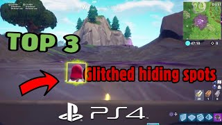 TOP 3 BEST GLITCHED HIDING SPOTS [Godmode] Fortnite Glitches