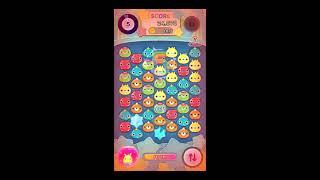 【ライン】ぷるぽんやってみた! LINE Corporation 面白い携帯スマホパズルゲームアプリ