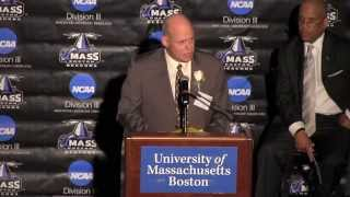 2013 UMass Boston Athletics Hall of Fame Induction Speech: Dan Hayes