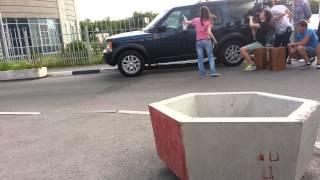 Land Rover Discovery 3 снимается в Кино Последний из Магикян 3