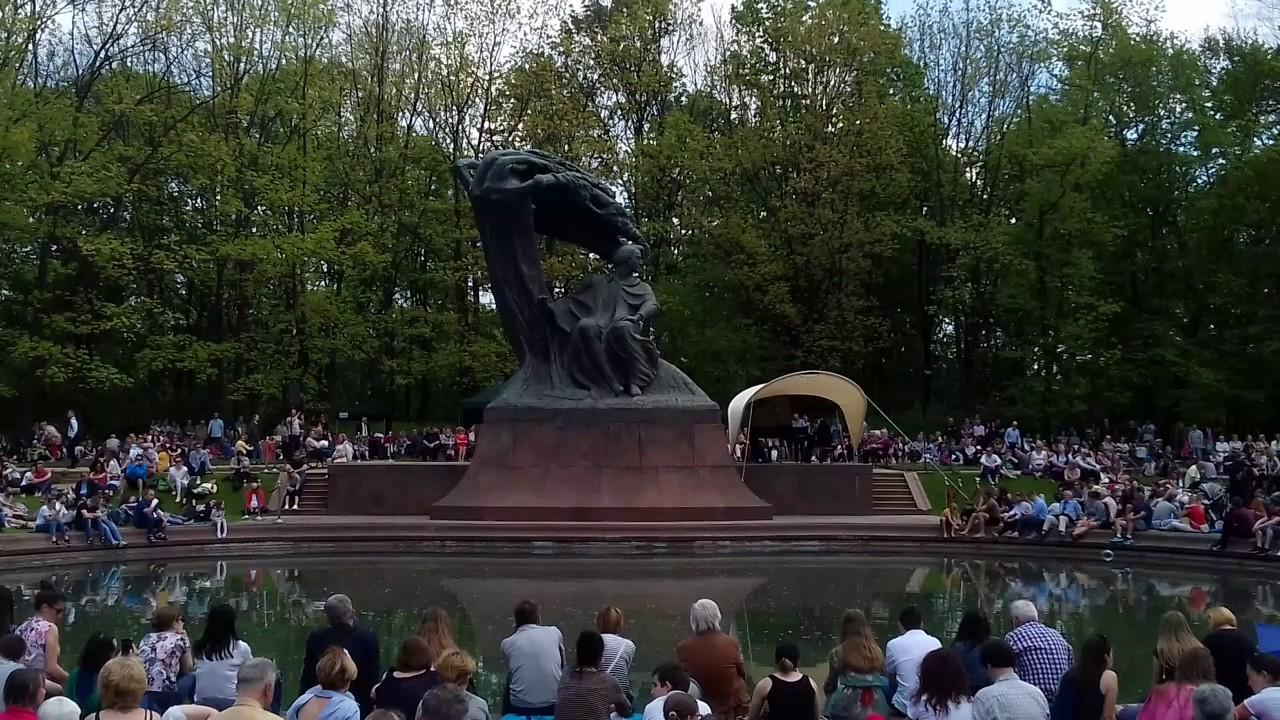 Chopin In Warschau In Koeniglichem łazienki Park Youtube