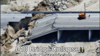 I-10 Bridge Collapse at Adair Overcrossing