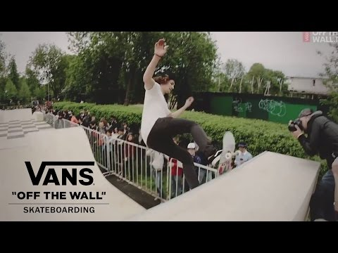 How to draw vans off the wall logo.