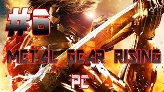 METAL GEAR RISING REVENGEANCE PC GAMEPLAY GTX 690 MAX SETTINGS PART 6!