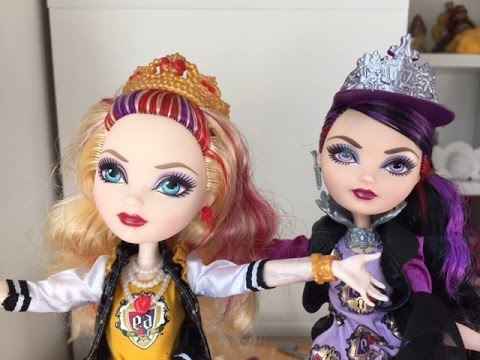 Ever After High School Spirit 2-Pack Review: Apple White ...