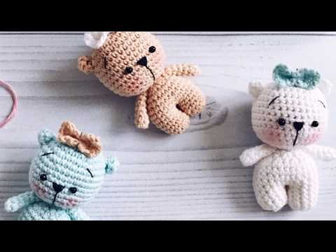Free Amigurumi Bear Toy Softies Crochet Patterns | Heklemønstre, Hekling og  Strikking | 360x480